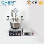 Autoclave chemical stainless steel batch lab reactor
